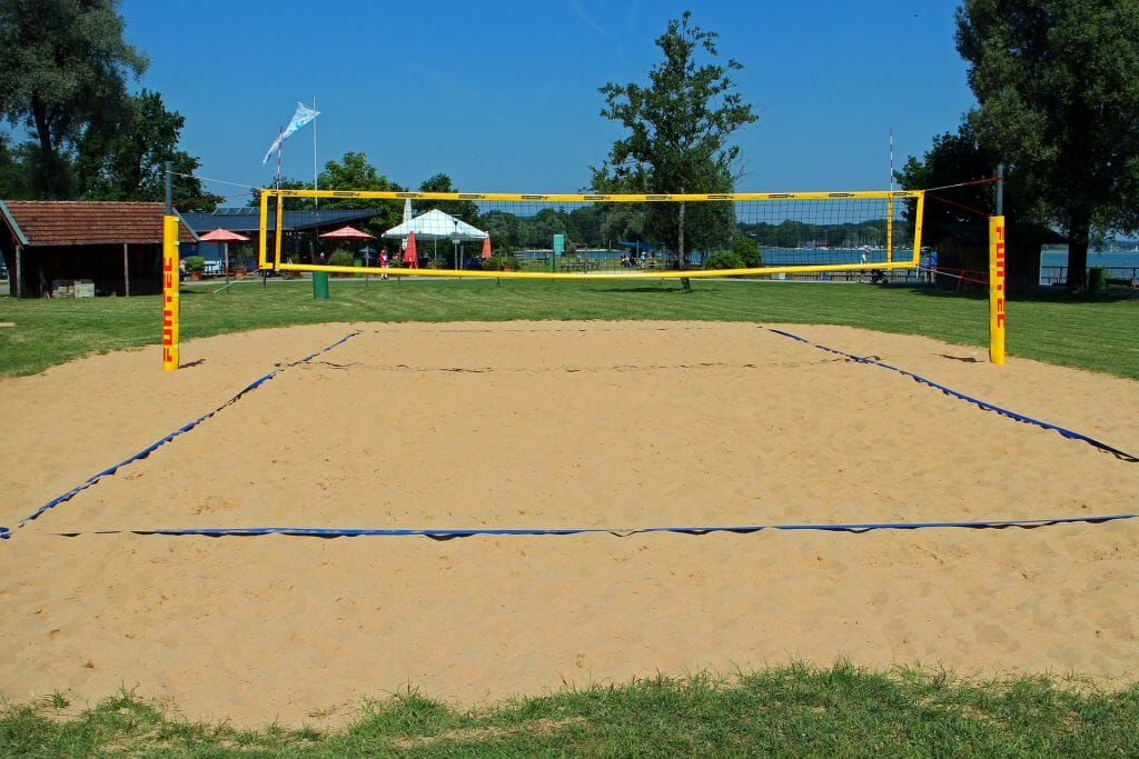 Campo da gioco beach volley